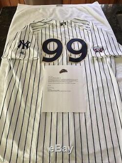 NEW YORK YANKEES AARON JUDGE signed GAME USED SCRANTON PIN STRIPE JERSEY JSA LOA