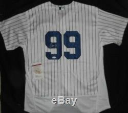 NICE Authentic Stitched Yankees Signed Aaron Judge Autographed Jersey COA