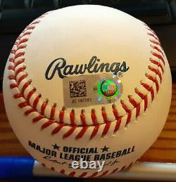 NY Yankees Aaron Judge autographed ML Baseball MLB Hologram