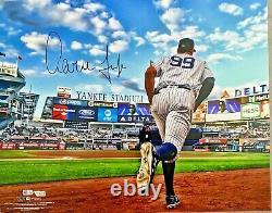 New York Yankees Aaron Judge Signed 16x20 Photo Fanatics + MLB Holo