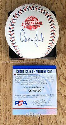 New York Yankees Aaron Judge Signed 2018 All Star Game Baseball DC PSA/DNA COA