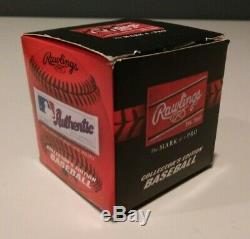 New York Yankees Aaron Judge Signed MLB Baseball Rawlings MLBPA Original