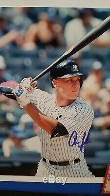 Nice! Aaron Judge Signed 8x10 In A 11x14 Frame W Gaa Coa