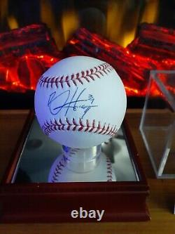 Really Nice! Bryce Harper Signed & Inscribed 2017 Mlb Baseball W Jsa Coa