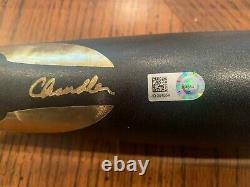 Steal! Aaron Judge Autographed Chandler Game Model Bat- Fanatics Authentic