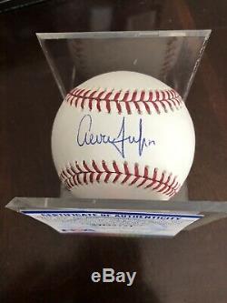 Yankees Aaron Judge Signed Major League Baseball Psa Coa
